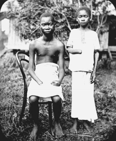 Congo, vers 1904