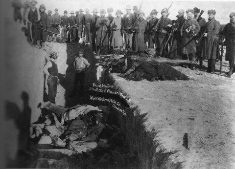Wounded Knee Creek, Dakota du Sud, janvier 1891.