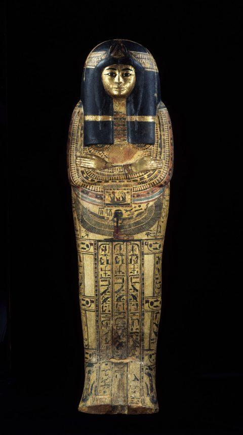 13- Cuve de cercueil extérieur de Tamoutnéfret © Musée du Louvre, dist. RMN - Grand Palais - Georges Poncet