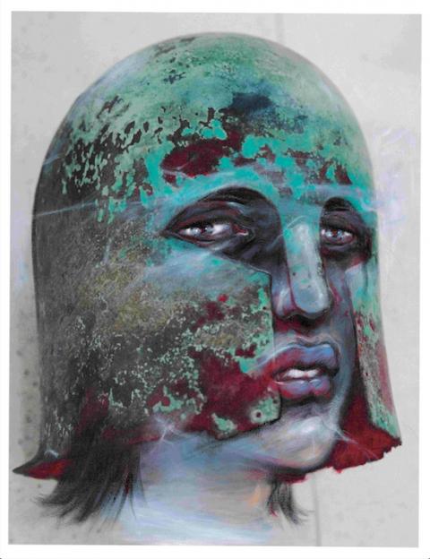 17- Enki Bilal, Hecube, Les fantômes du Louvre, 2012 © Enki Bilal