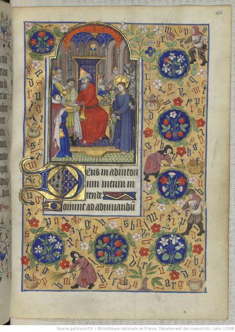 Heures de Marguerite d'Orléans, France, XVesiècle, Manuscrit de Paris, BnF, Latin1156B, fol.135r