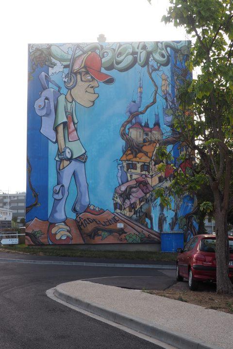 La grande fresque du quartier de la Madeleine