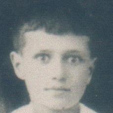 Photographie et détails de la photographie prise à l'occasion de la communion d'Enzio Zampetti, 1926.