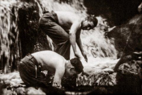 Photogrammes extraits des films d'Anselme et Guy Delattre, 1944 et 1945 © Cinémathèque de Bretagne